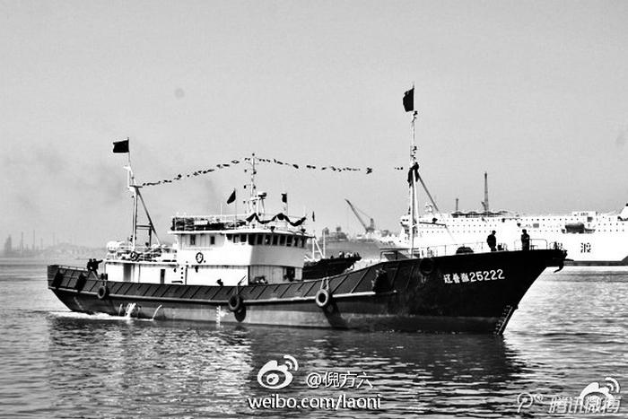 Захваченный Северной Кореей китайский корабль. Фото с epochtimes.com