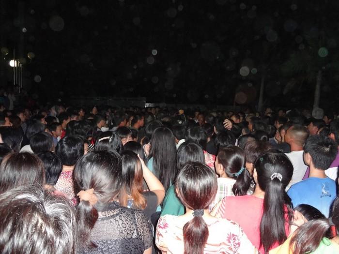Протест против коррупции. Деревня Ляньтан, провинция Гуандун. Октябрь 2012 года. Фото с epochtimes.com