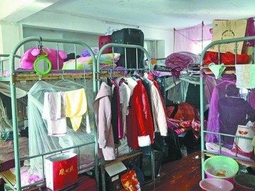 Общежитие, в котором на человека приходится по 3 квадратных метра жилплощади. Город Ухань провинции Хубэй. Фото с baike.baidu.com