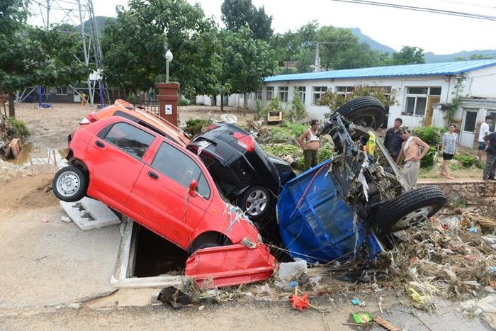 Последствия наводнений в Китае. Июль 2012 год. Фото: AFP/GettyImages
