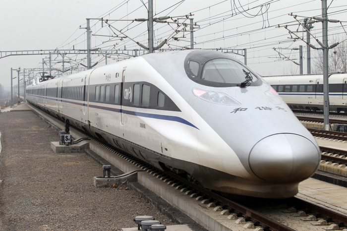 Высокоскоростные поезда в Китае являются убыточным проектом. Фото: AFP
