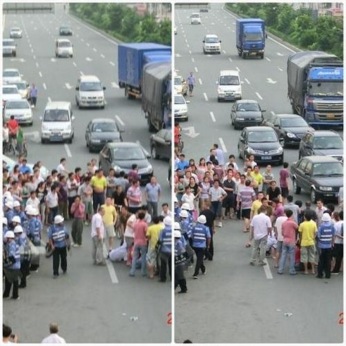 Протесты рабочих. Провинция Гуандун. Август 2012 год. Фото с epochtimes.com