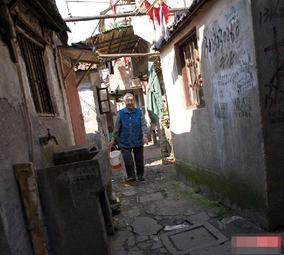 Бедные районы Шанхая. Фото: ifeng.com