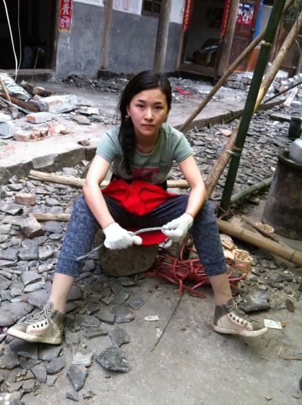 После землетрясения. Провинция Сычуань (Китай). Апрель 2013 год. Фото с epochtimes.com