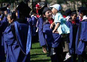 Преподавателям китайских вузов запретили рассказывать студентам о гражданских правах и универсальных ценностях. Фото: China Photos/Getty Images