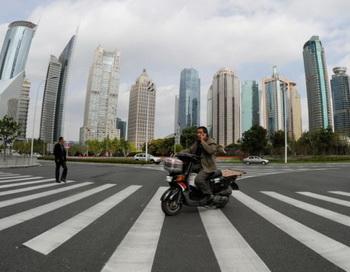 Финансовый район Пудун в Шанхае, 1 ноября 2011 года. Фото: Mark Ralston/AFP/Getty Image