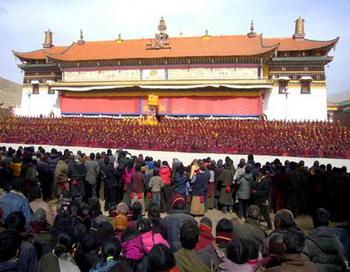 Монастырь Кирти. Провинция Сычуань. Фото с сайта djyimg.com