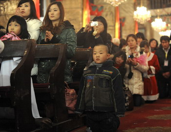В Пекине арестованы христиане. Фото: LIU JIN/AFP/Getty Images