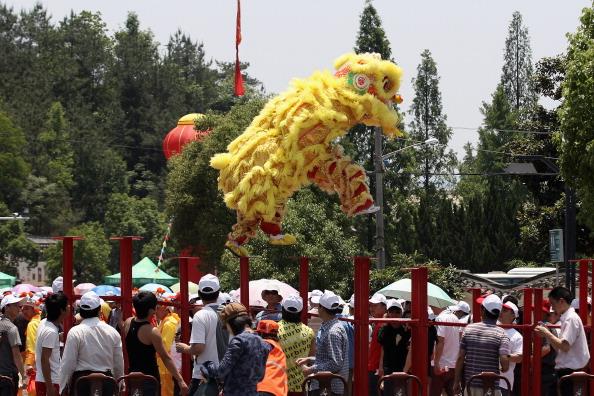 На востоке Китая в провинции Чжэцзян 19 мая отметили «День китайского туризма». Фото: Lintao Zhang/Getty Images