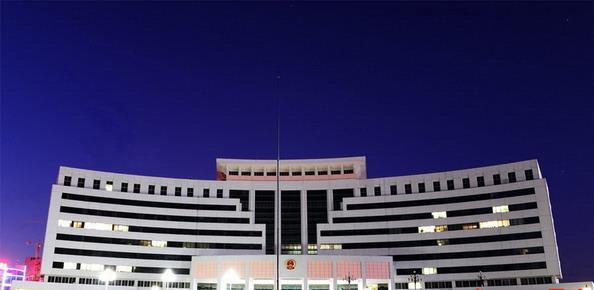 Здание администрации города Яньтай, провинция Шаньдун. Фото с сайта kanzhongguo.com