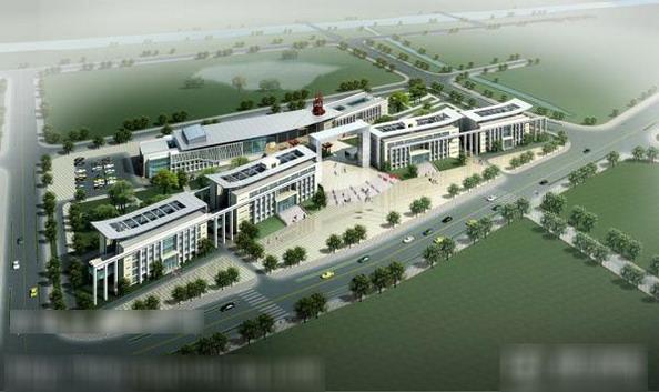 Строительный план здания администрации уезда Ванцзян провинции Аньхуэй. Фото с сайта kanzhongguo.com