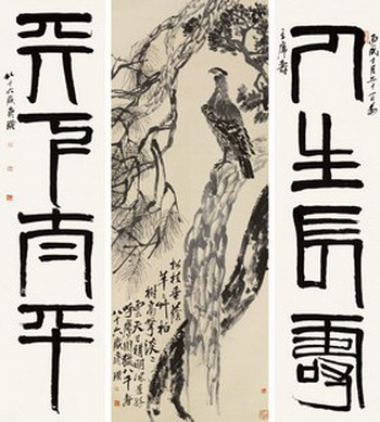 """Самое дорогое произведение китайского художника Чи Бай-Ши было продано в 2011 году на китайском аукционе Гардиан. Могут ли """"скрытые намёки"""" рынка искусств предсказать приближающиеся кризисы? Фото: guardian china / AFP"""