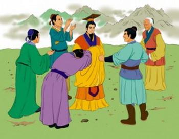 Император Шунь – основоположник китайской этической культуры. Иллюстрация: Чжичин Чень/Великая Эпоха (The Epoch Times)