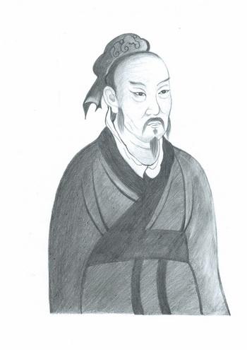 Мэнцзы - наследник учения Конфуция. Иллюстрация: Еуань Фан/Великая Эпоха (The Epoch Times)