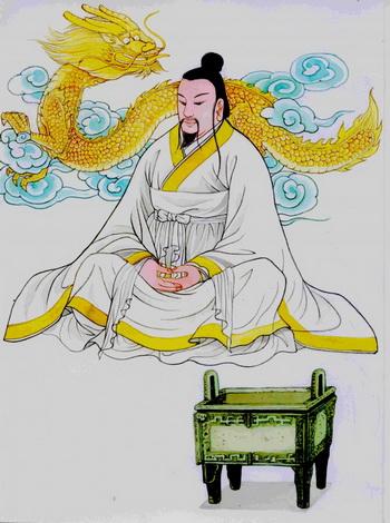 Желтый император. Иллюстрация: Блу Сяо/Великая Эпоха(The Epoch Times)