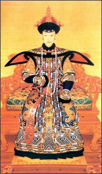 Императрицы Китая. Фото взято с factsanddetails.com