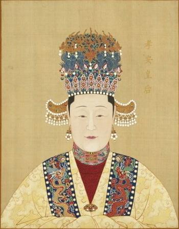 Императрицы Китая. Фото взято с heartsthroughhistory.com