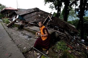 В Тибете зафиксировано землетрясение. Фото: Getty Images