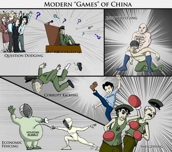 Современные «игры» в Китае