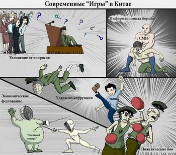 Современные «игры» в Китае. Иллюстрация: The Epoch Times
