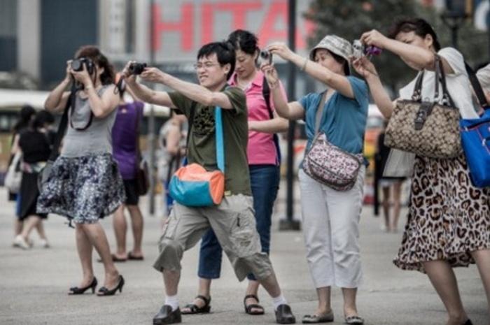 Туристы из Китая считаются щедрыми и восторженными. Фото: AFP/Getty Images