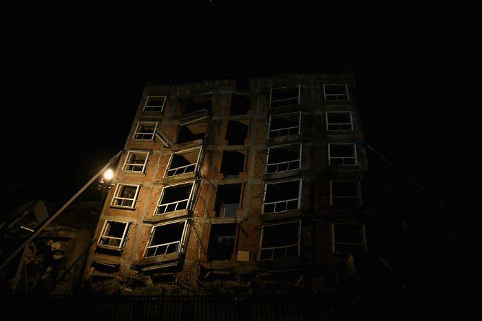 Руины разрушительного землетрясения 12 мая 2008 года в уезде Бэйчуань, китайской провинции Сычуань 11 мая 2013 г. Фото: Feng Li/Getty Images