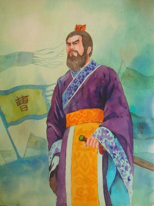 Цао Цао. Иллюстрация: Чжицзин Чэнь/Великая эпоха (The Epoch Times)