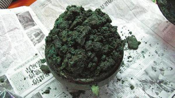 В Китае обнаружили говядину 2000-летней давности в медном сосуде. Фото: epochtimes.com