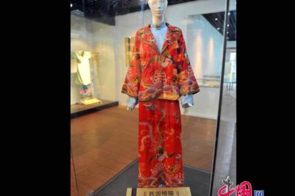 Свадебное платье периода Китайской Республики (1912 - 1949 гг.). Фото: news.zhengjian.org