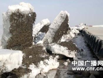 В Синьцзяне удар айсберга был похож на 8 бальное землетрясение. Фото: cnr.cn