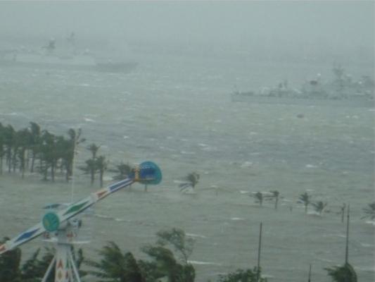 Тайфун «Кайтак» обрушился на юг Китая, 13-й в этом году. Фото: epochtimes.com
