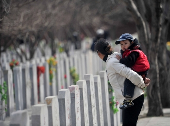 Умереть в Китае дороже, чем купить квартиру.  Фото: STR / AFP