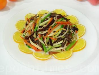«Совершенство» - новогоднее китайское блюдо. Фото: Сюся Линь/Великая Эпоха (The Epoch Times)