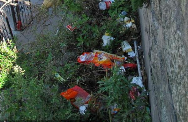 На горе Тайшань после туристов собрали 8 тонн мусора. Фото с kanzhongguo.com