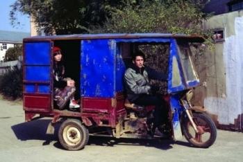 Водитель велорикши «маму». Фото: epochtimes.com