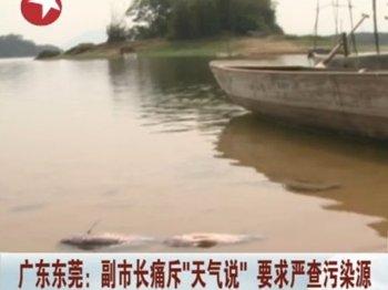На юге Китая в водохранилище случился массовый мор рыбы. Фото с epochtimes.com