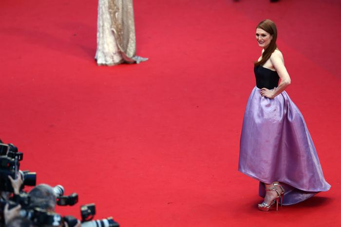 Джулианна Мур на открытии Каннского кинофестиваля 15 мая 2013 года. Фото: Vittorio Zunino Celotto/Getty Images