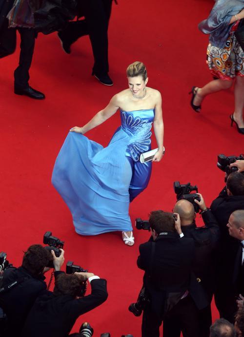 Певица Лори на открытии Каннского кинофестиваля 15 мая 2013 года. Фото: Andreas Rentz/Getty Images