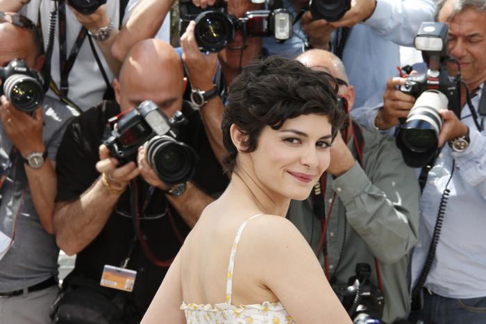 Французская актриса и хозяйка церемонии Одри Тату на открытии Каннского кинофестиваля 15 мая 2013 года. Фото: LOIC VENANCE/AFP/Getty Images