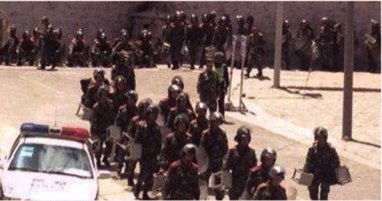 Лхаса похожа на большую тюрьму. Тибет. Сентябрь 2013 год. Фото с epochtimes.com