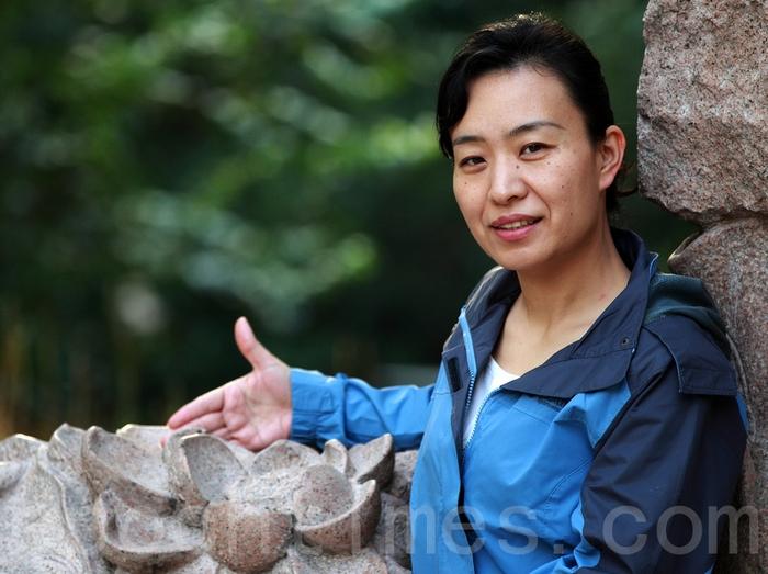 Лю Ин, последовательница Фалуньгун, бывшая редактор пекинской газеты Beijing News Фото: The Epoch Times