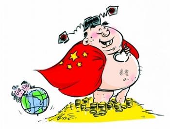 Карикатура на «голого чиновника». Источник: China News