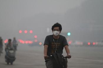 В Пекине объявлен самый высокий уровень загрязнения воздуха. Фото с epochtimes.com