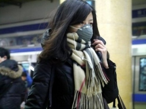 В пекинском метро. Декабрь 2013 года. Фото с epochtimes.com