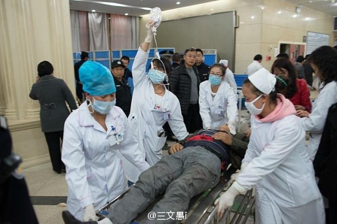 В результате резни на вокзале города Куньмина пострадали более 160 человек. Март 2014 года. Фото с epochtimes.com