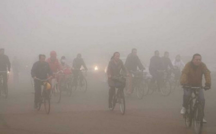 Смог в Пекине. 2013 год. Фото с epochtimes.com