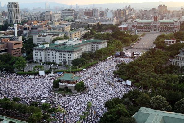 Народный протест в Тайване. Июль 2013 года. Фото: ЦАН