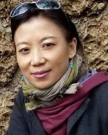 Тибетская писательница Церинг Войзер. Фото с блога Войзер