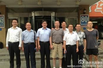 Адвокаты, которые не побоялись давления со стороны режима и взялись защищать сторонников Фалуньгун в суде. Фото с epochtimes.com