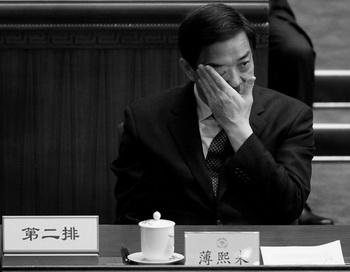 Опальный бывший секретарь парткома Чунцина Бо Силай на заключительном заседании Народного политического консультативного совета Китая (НПКСК) в Большом народном зале, 13 марта 2012 года, Пекин, Китай. Фото: Lintao Zhang/Getty Images